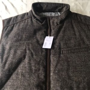 Men's Jos A Banks Reserve zipper Vest